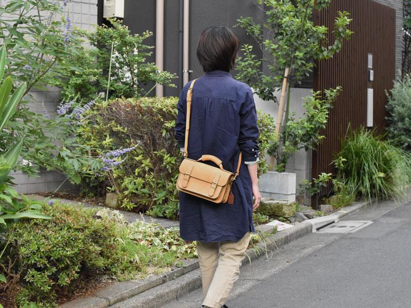 ヌバック特別仕様の二本ベルトの2wayミニバッグ