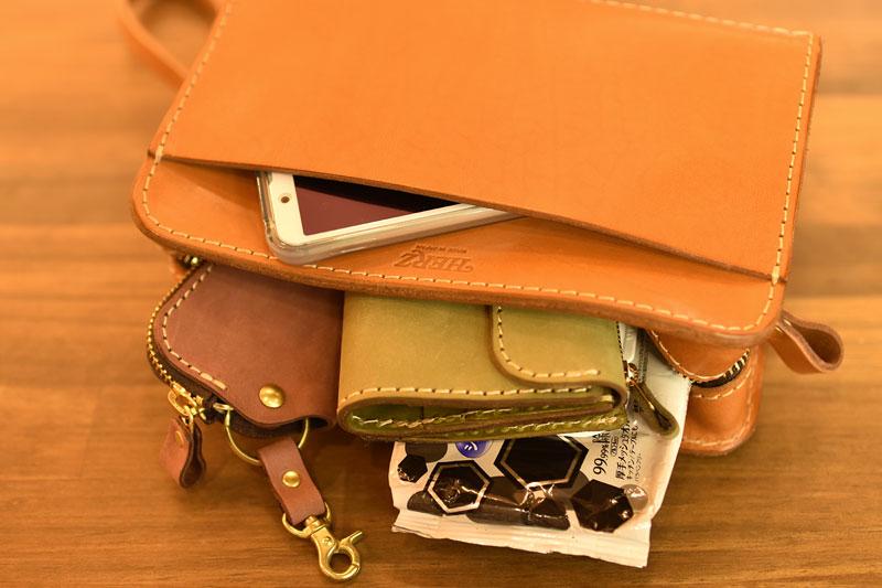 持ち手付きセカンドバッグ(S-148) 収納例