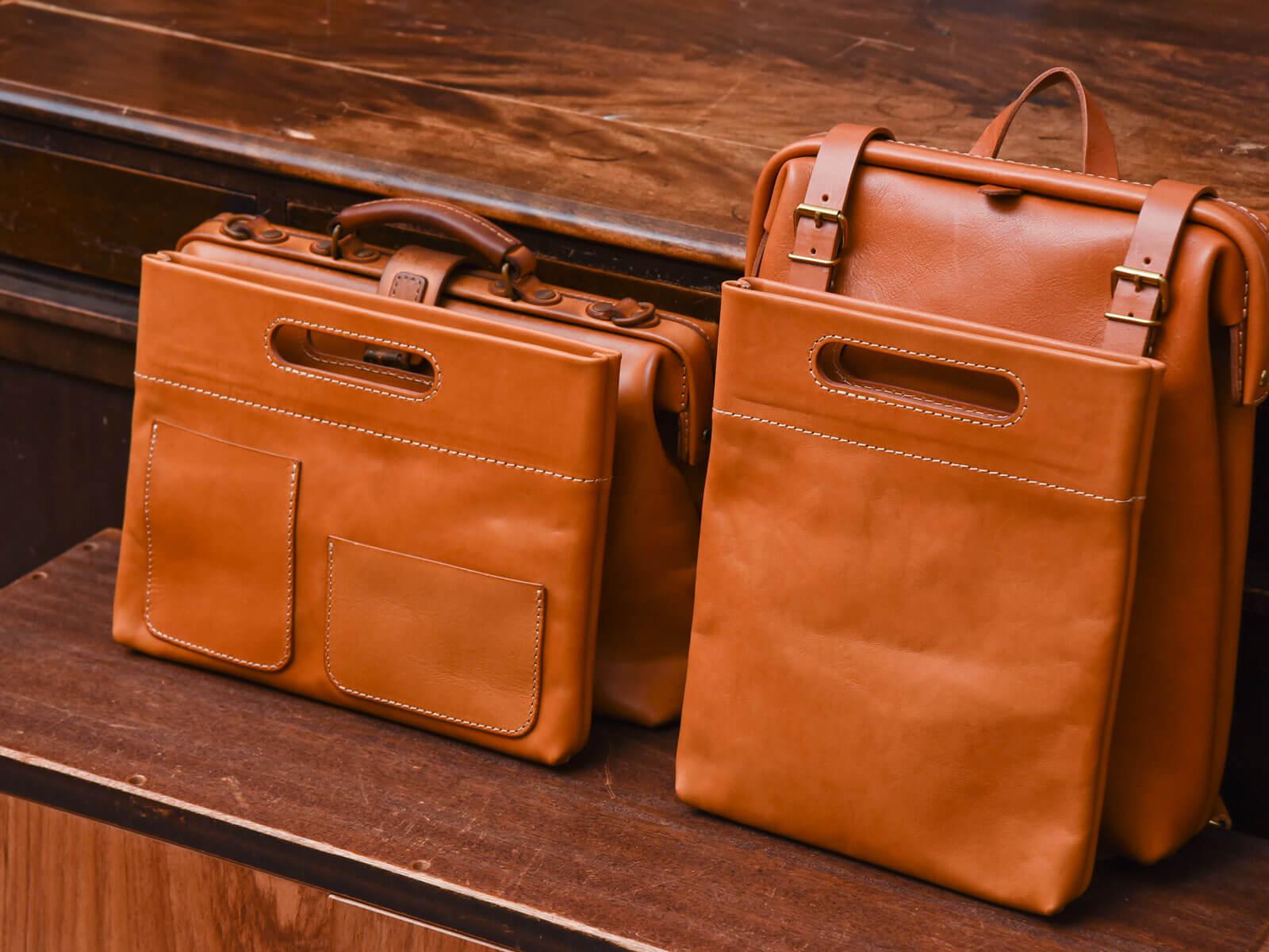 新作:手持ちもできるバッグインバッグ横型・縦型(S-3)