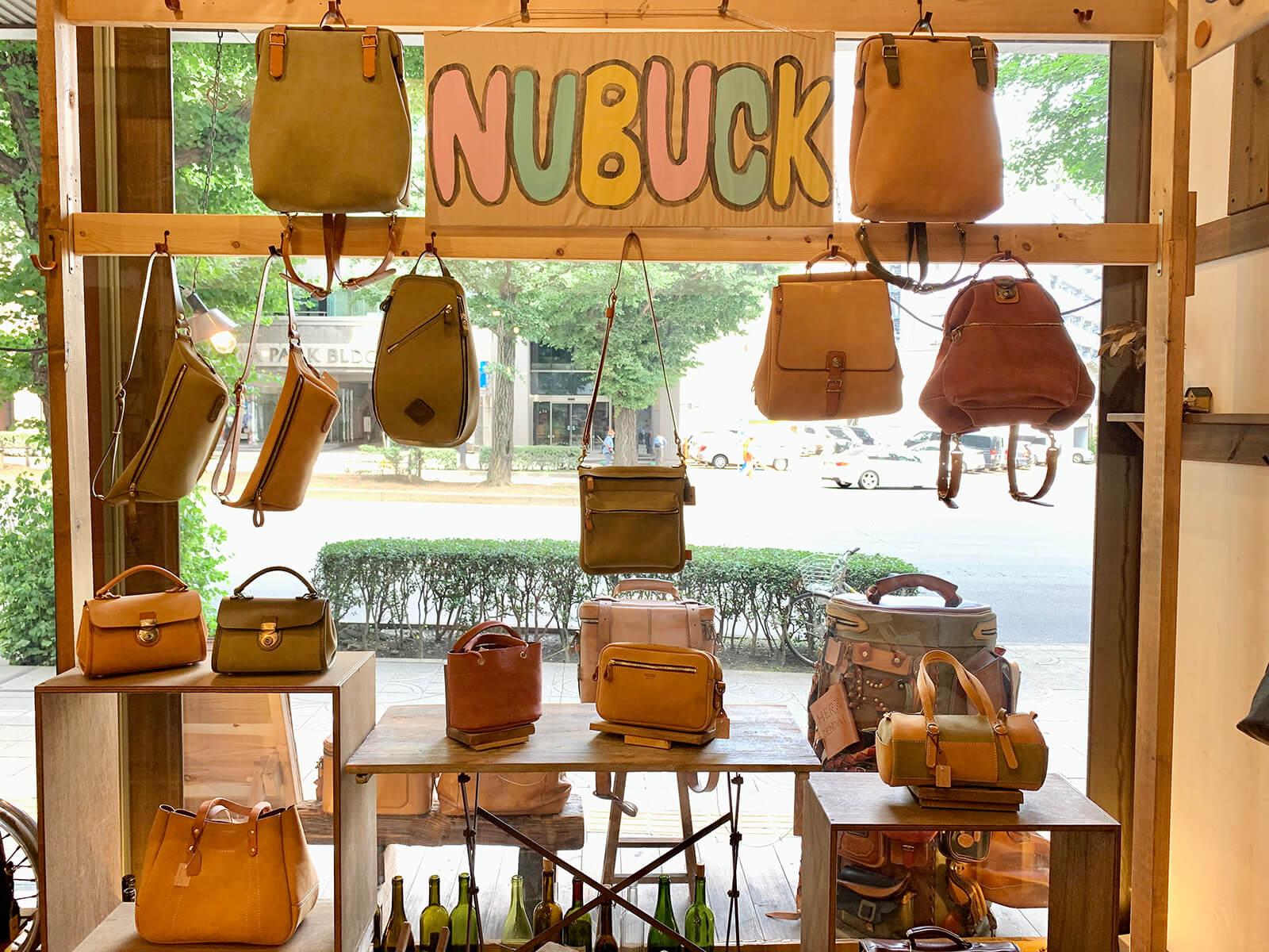 特別革「ヌバック」仙台店にもありますよ!!
