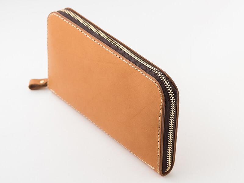 大きいファスナー長財布(WL-5) 側面