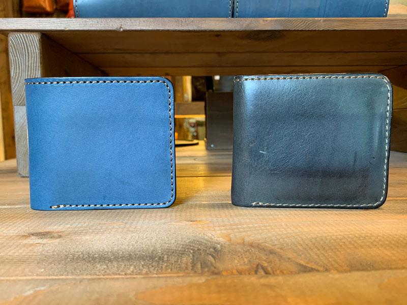 デニムブルー 7ヶ月使用の財布3