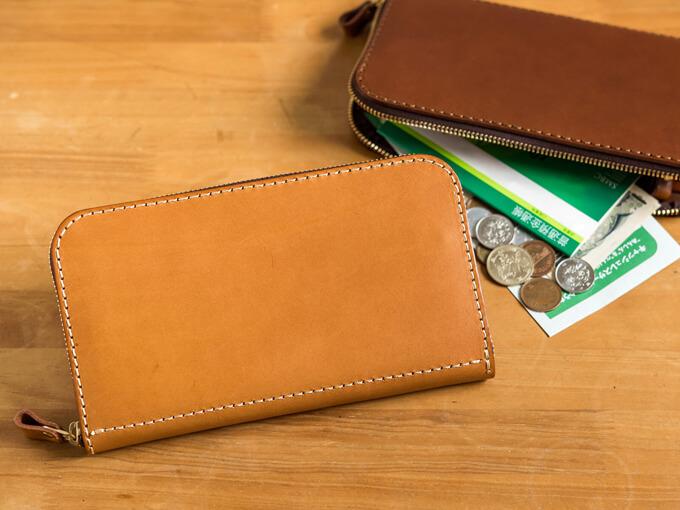 大きいファスナー長財布(WL-5)