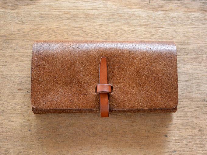 一本ベルトの長財布(GS-12)