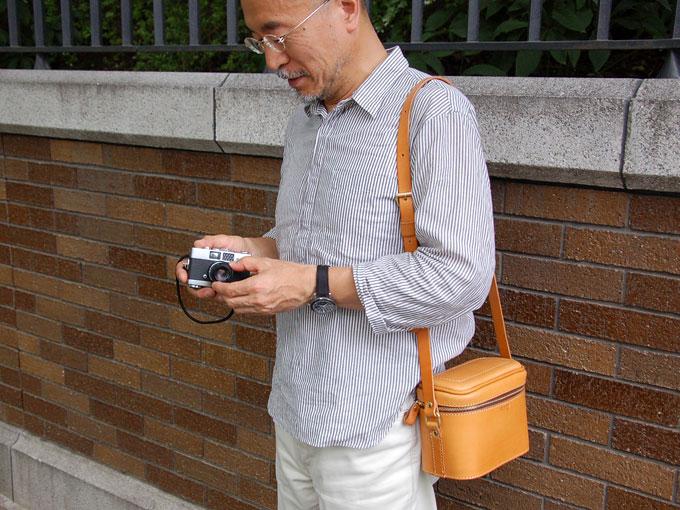 ソフトタイプのカメラバッグ(N-60)
