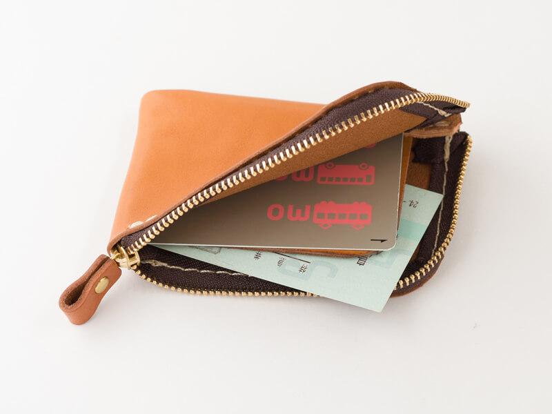 仕切り付きミニ財布(KK-2) 収納例2