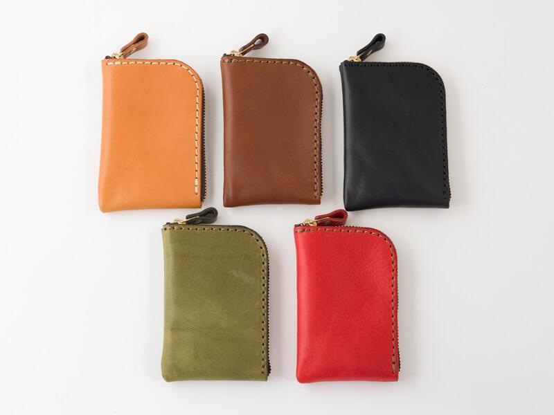 仕切り付きミニ財布(KK-2) 5色展開