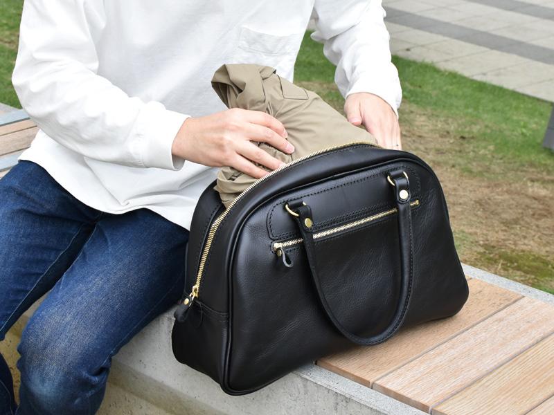 マディソンバッグ(V-149)革色ブラック
