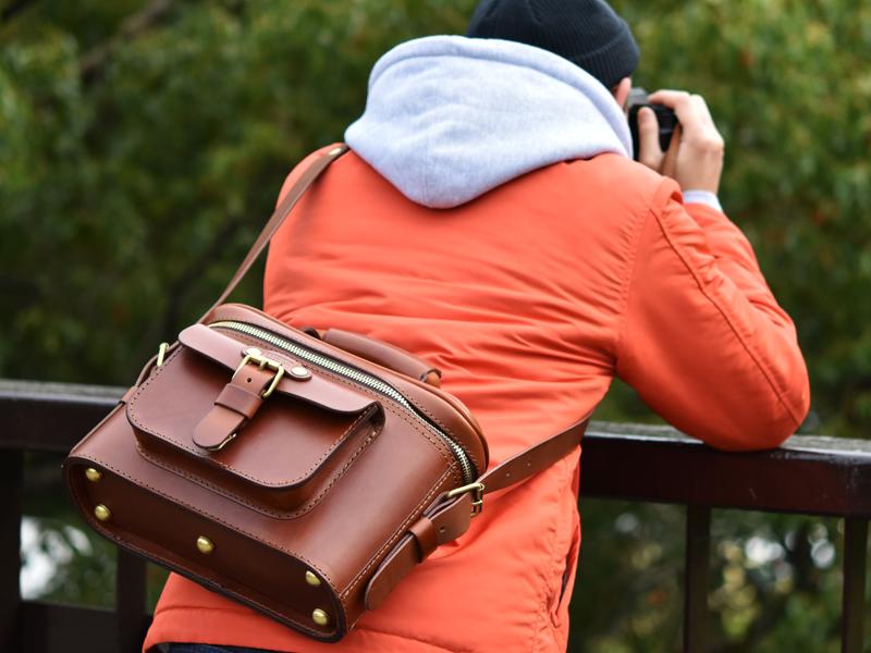 ハードギャジット・カメラバッグ(N-8)着用例6