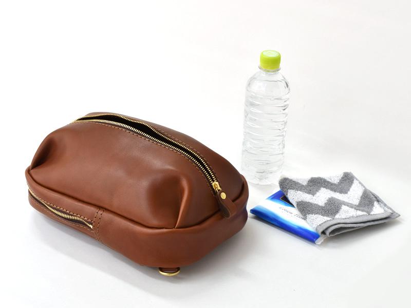 立体ポケットボディバッグ(SP-2020)の前ポケットの収納例