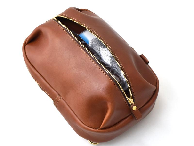 立体ポケットボディバッグ(SP-2020)の前ポケットの収納例2