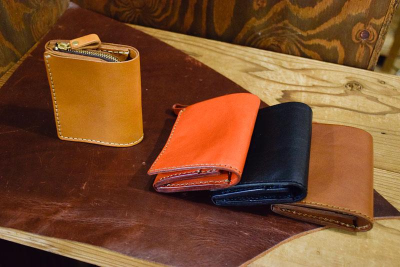 小型の二つ折り財布(WS-64)