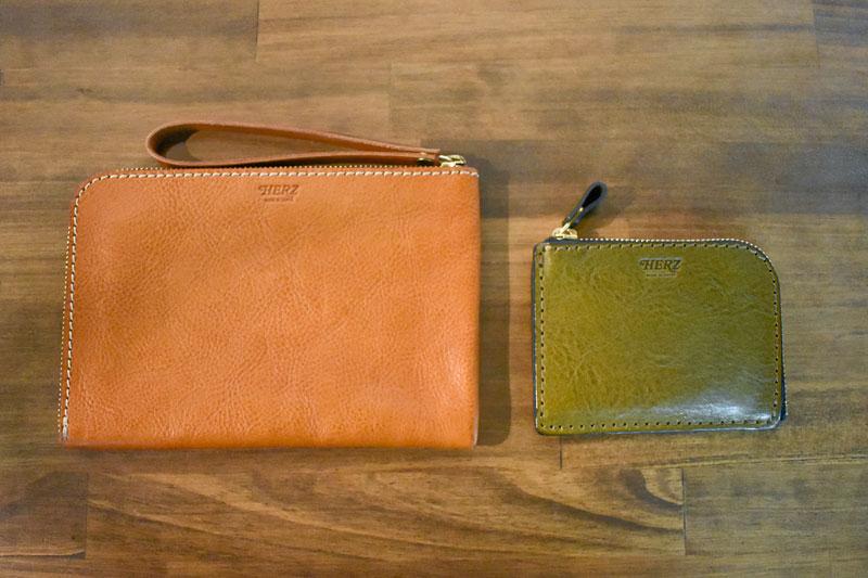 ポーチとミニ財布