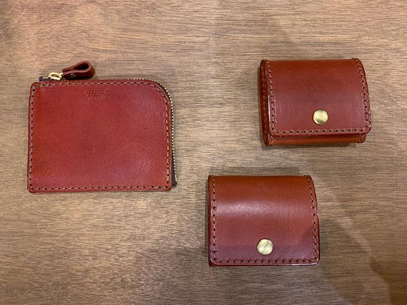 L字ファスナーミニ財布(KK-38)、シンプル小銭入れ(KK-23)
