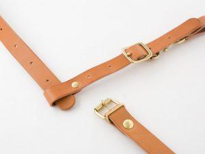 リュックストラップ用チェストベルト(KO-1) 装着方法