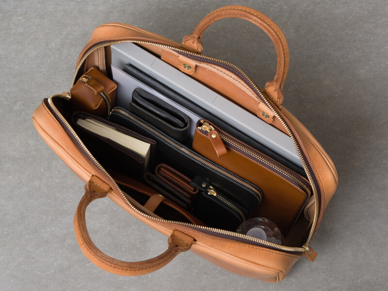 ビジネスバッグ(M-9) 収納イメージ