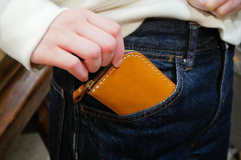 お出かけに使える財布