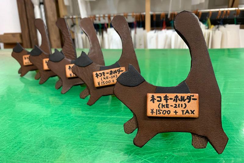 仙台店:佐藤お手製のネコ型POP!