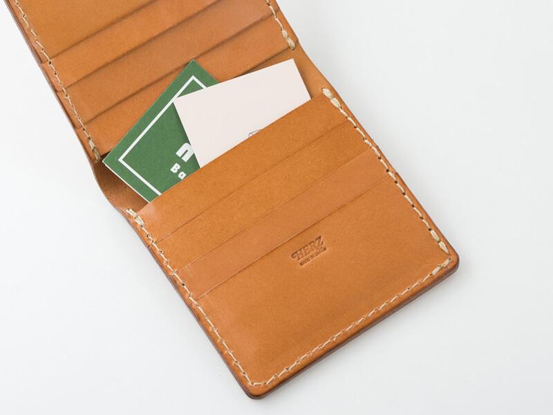 二つ折り財布(WS-4) ポケット