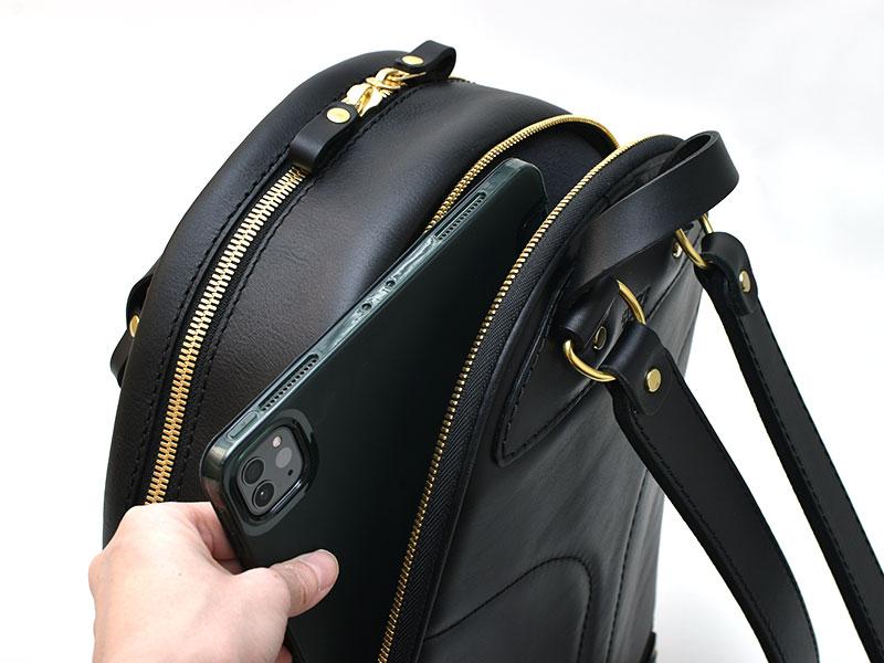多機能デイパック(R-21)ポケットの様子