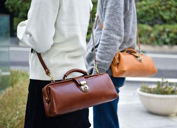 規格サイズにとらわれない鞄作り