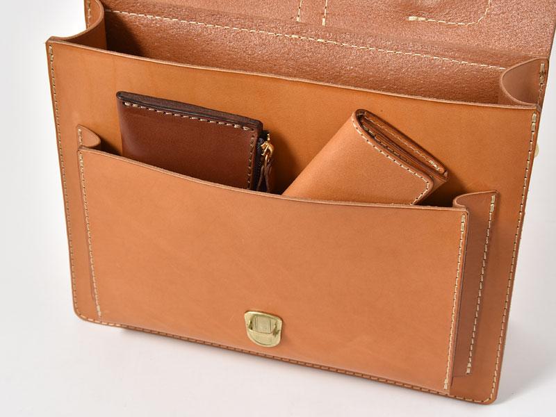 1本ベルト3wayビジネスバッグ(BC-4) 前ポケット収納
