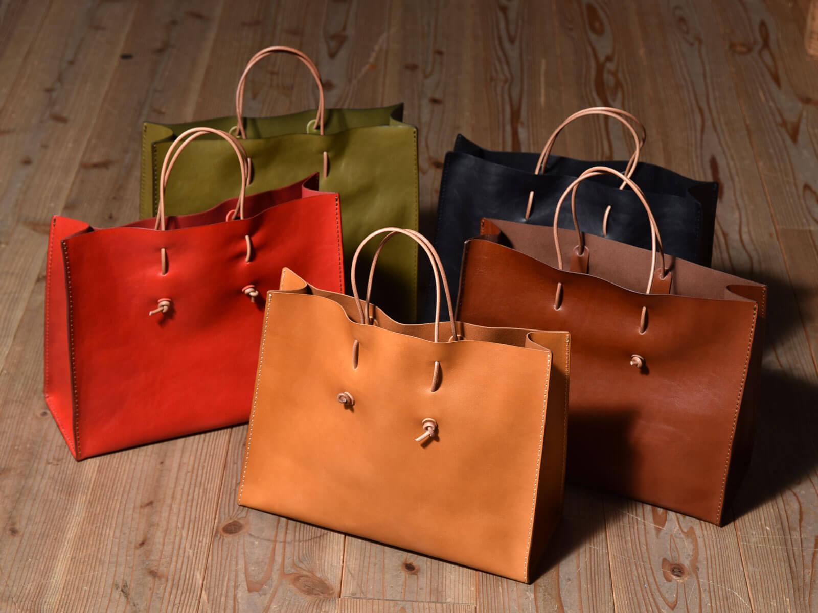 新作:革紙袋(T-5)