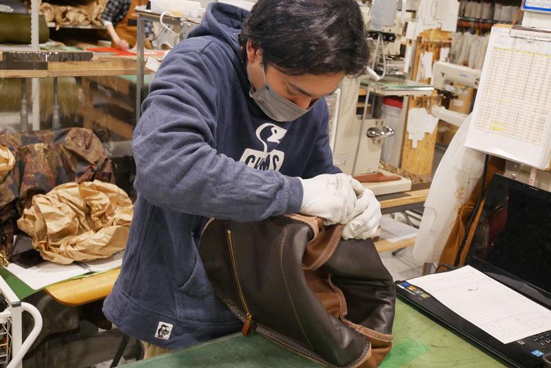 大阪店の工房の様子3