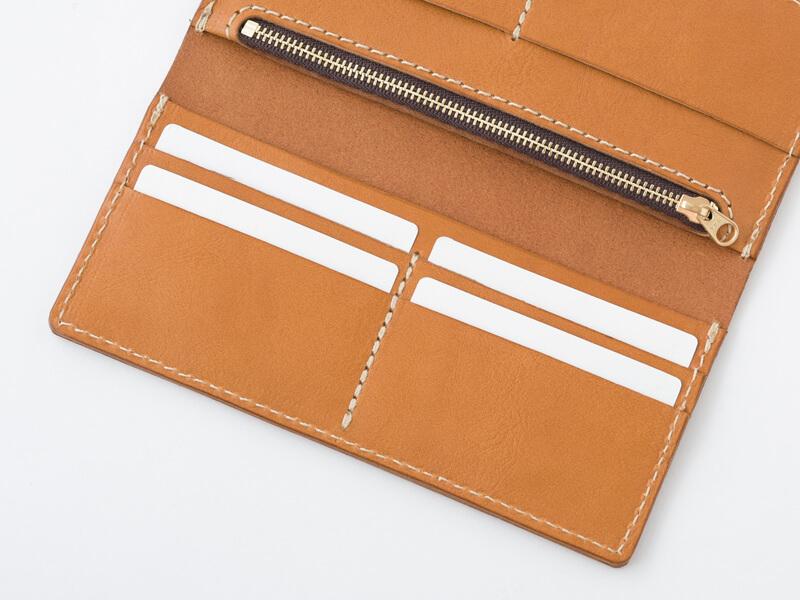 ロングフラットウォレット(WL-6) カードポケット