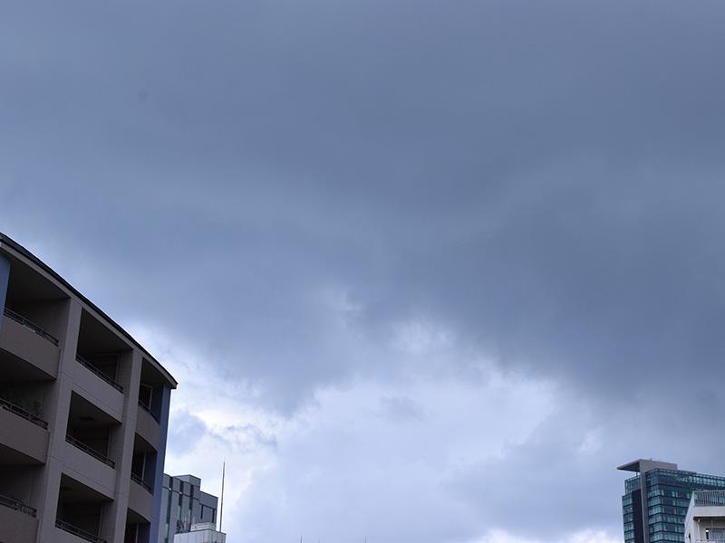 NEZ工房近くの空模様