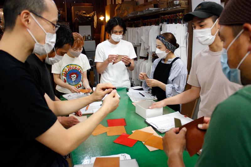 革折り紙展覧会開催風景1