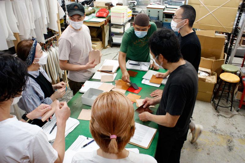 革折り紙展覧会開催風景2