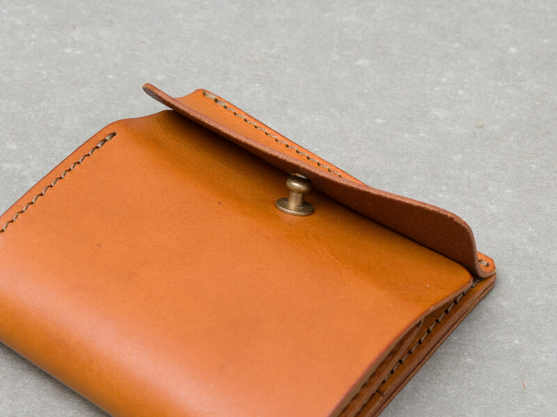 ギボシ留め二つ折り財布(GS-71) ギボシ