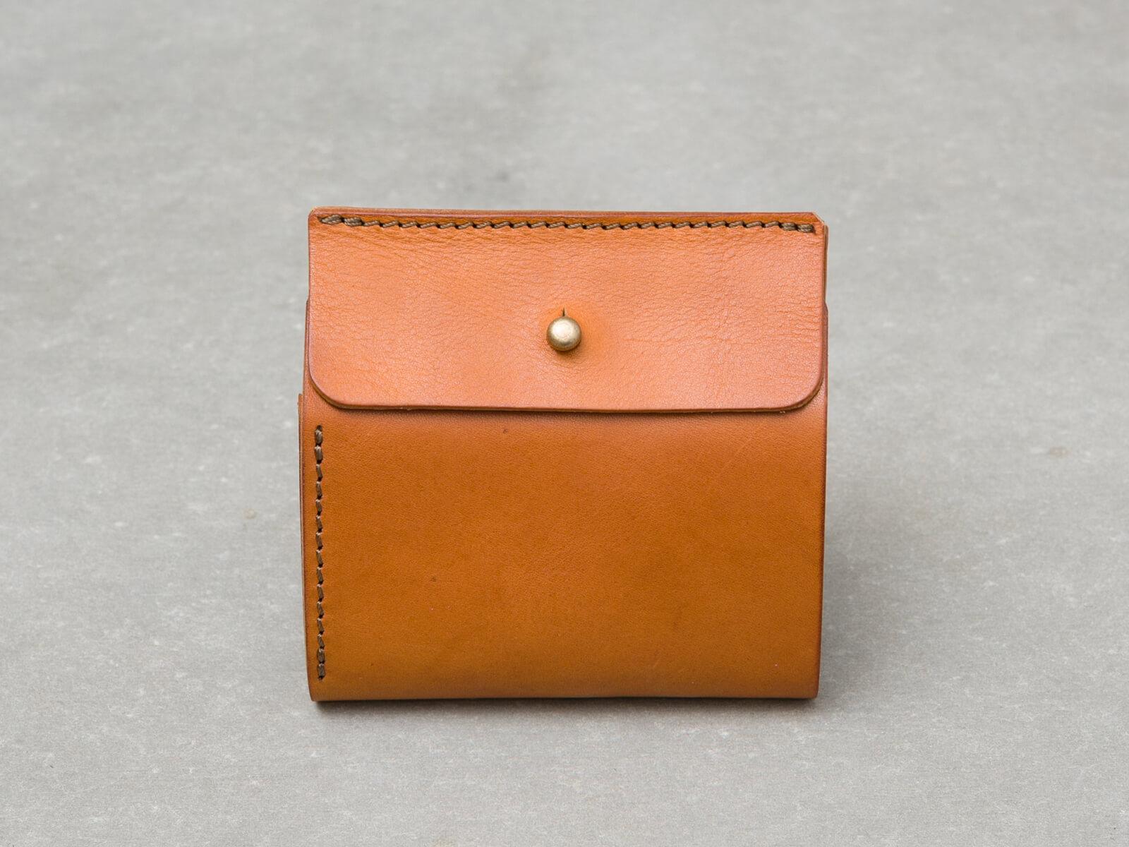 ギボシ留め二つ折り財布(GS-71)