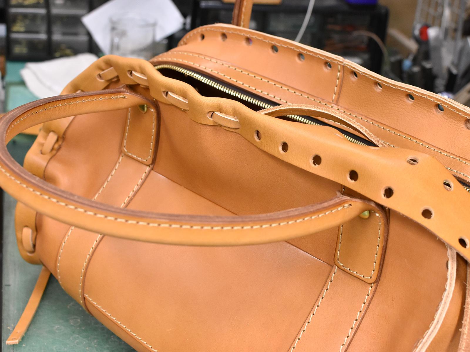 創業当初から続く、からげのボストンバッグ(A-24)