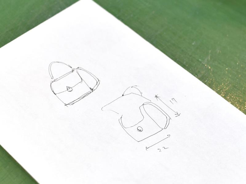 プチボワット(Q-12)試作時のイラスト