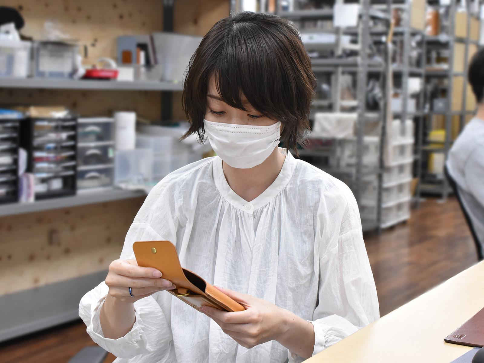 マルチスマホケース(KM-1)インタビュー/オンラインショップ:松下編