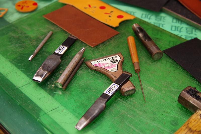 キーホルダー製作道具