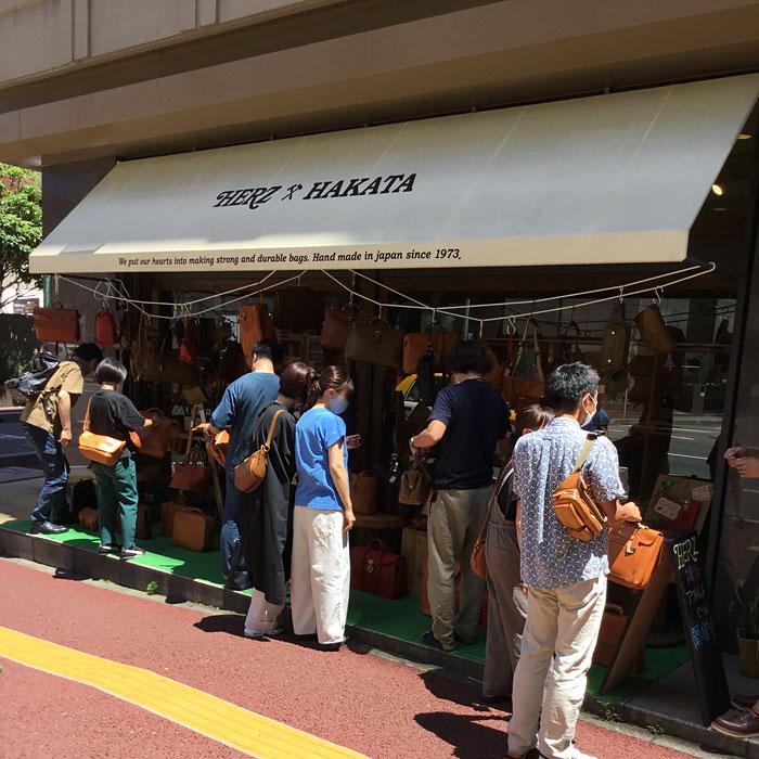 アウトレットリレー祭り 博多店開催風景3
