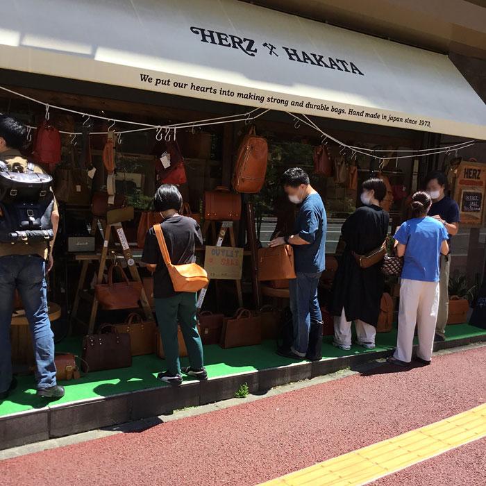 アウトレットリレー祭り 博多店開催風景2