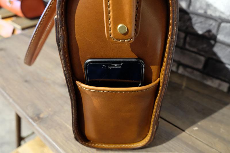 ボルサ・トート 側面ポケット2