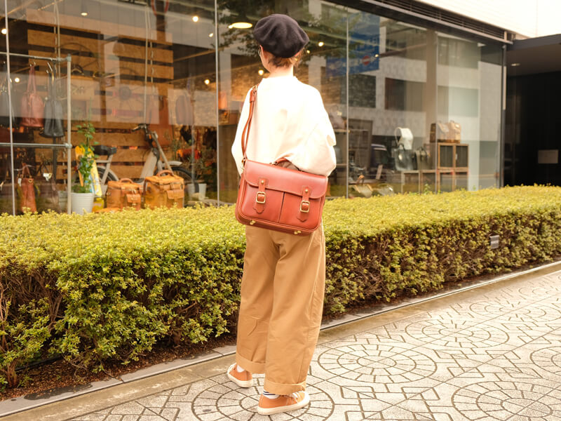 お洒落の秋!大阪店スタッフスナップ CW-10着用4