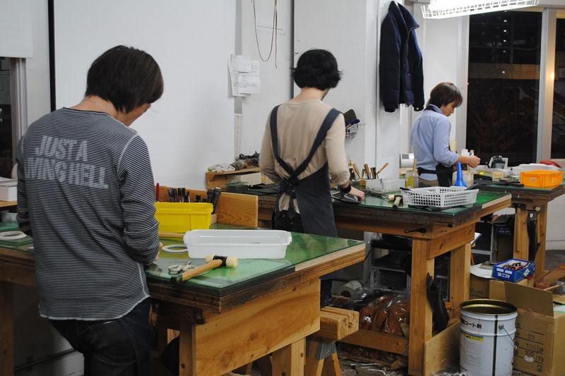 旧大阪店の工房風景2
