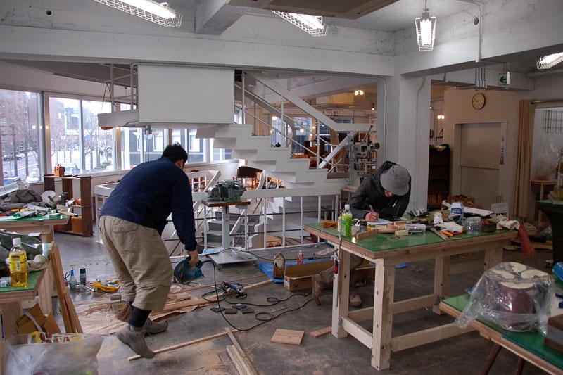 旧大阪店の立ち上げ準備