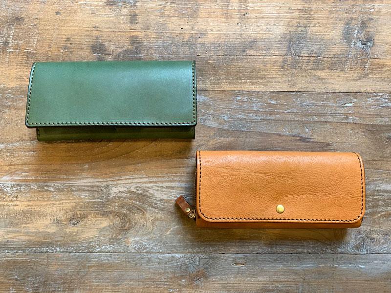 マルチカラーの財布たち
