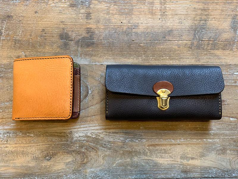 マルチカラーの財布たち3