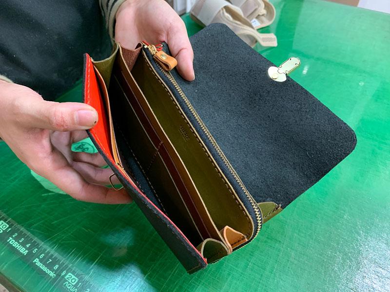 マルチカラーの財布たち5
